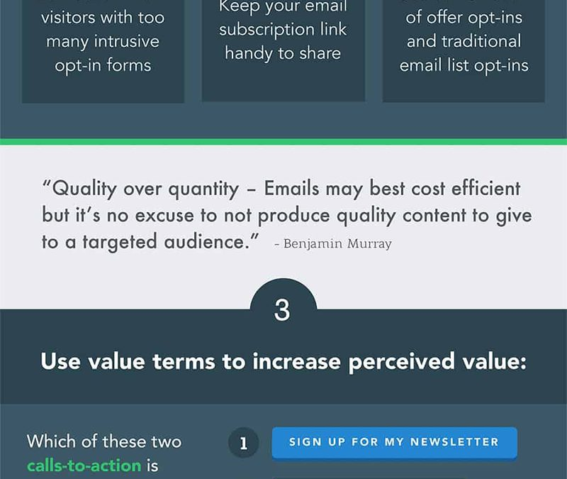 5 Tips to Generate More Email Subscribers from Your Website