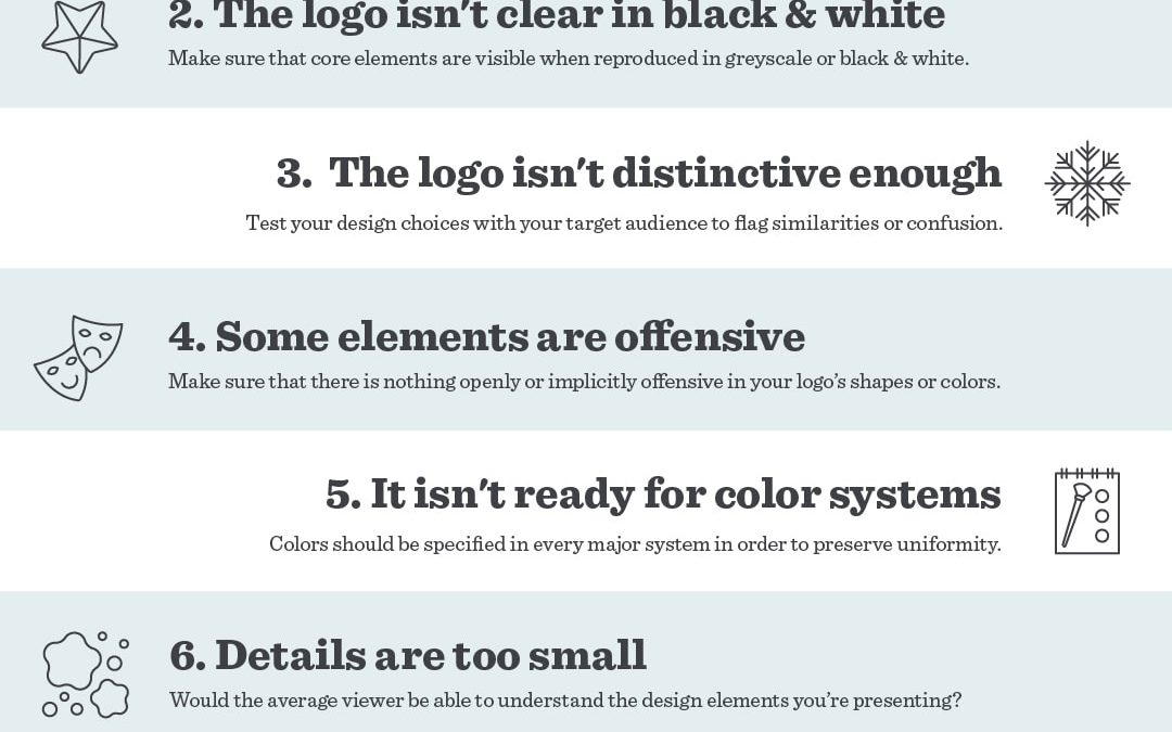 10 Logo Design Mistakes You Must Avoid in 2019