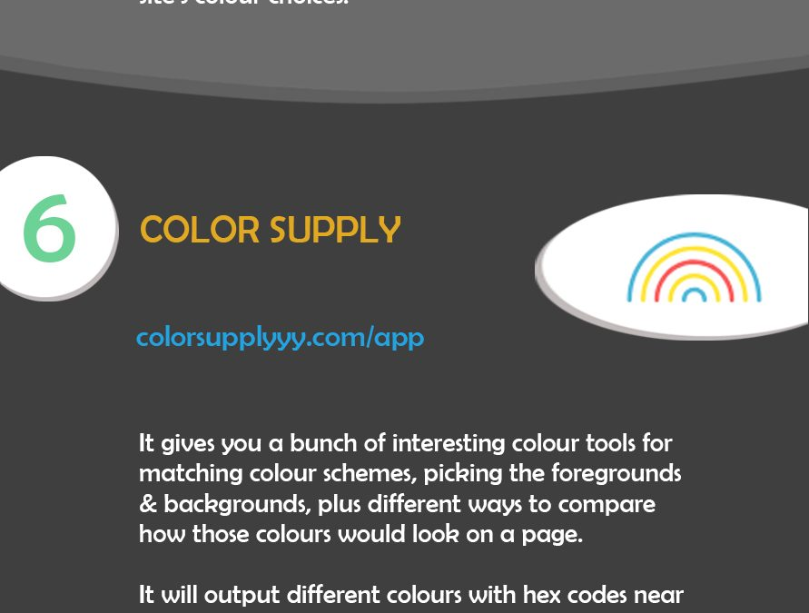10 Web Based Colour Tools for DIY Web Designers