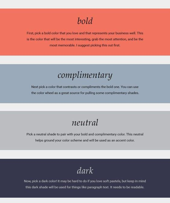 5 Steps to Create the Perfect Colour Palette for Your Brand