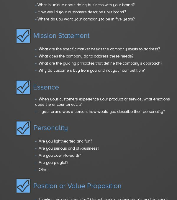 Brand Identity Checklist: 20 Steps to Develop a Strong Business Brand