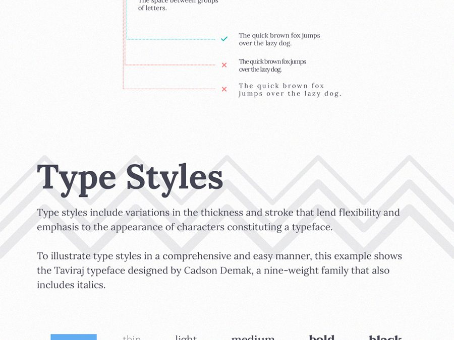 Typography Cheat Sheet: How to Make Words Look Good on Everything You Create