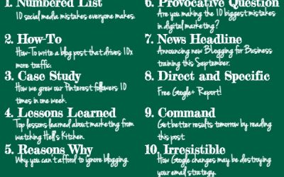 10 Types of Blog Title That Drive Massive Traffic to Your Website